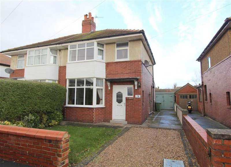 3 Bedrooms Semi Detached House for sale in Birkdale Avenue, Lytham St Annes, Lancashire