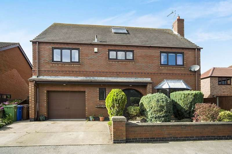 4 Bedrooms Detached House for sale in Back Lane, East Cowick, Goole, DN14