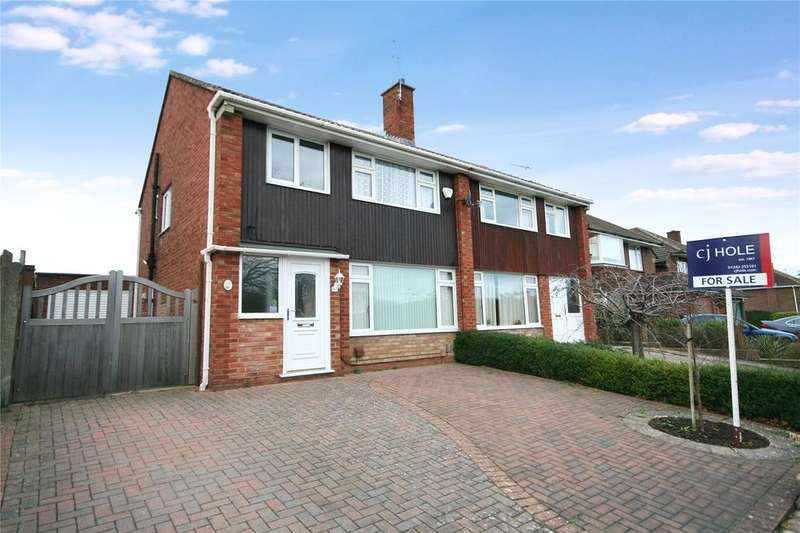 3 Bedrooms Semi Detached House for sale in Bibury Road, Cheltenham, GL51