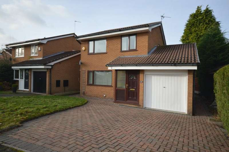 3 Bedrooms Detached House for rent in Easby Close, Poynton