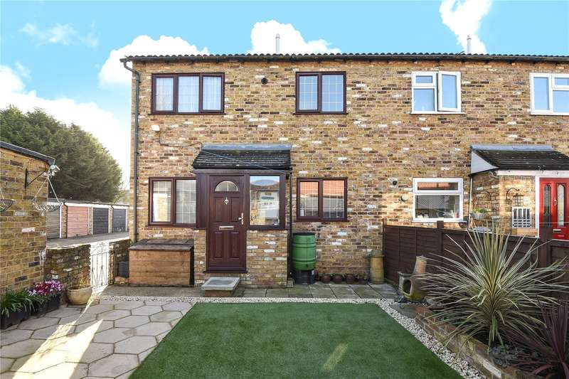 1 Bedroom Terraced House for sale in Rushes Mead, Uxbridge, Middlesex, UB8