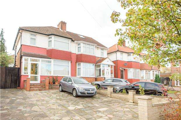 3 Bedrooms Semi Detached House for sale in Forest Gate, London, NW9 0SP
