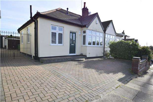 3 Bedrooms Semi Detached Bungalow for sale in David Drive, ROMFORD, RM3 0YA