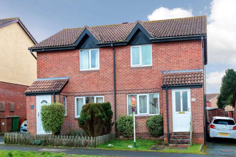 2 Bedrooms Semi Detached House for sale in Coleman Drive, Staddiscombe, Plymstock, PL9 9UN