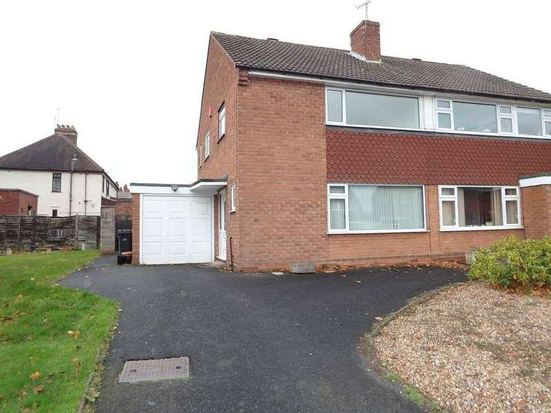 3 Bedrooms Semi Detached House for rent in Hamilton Avenue, Wollaston, Stourbridge