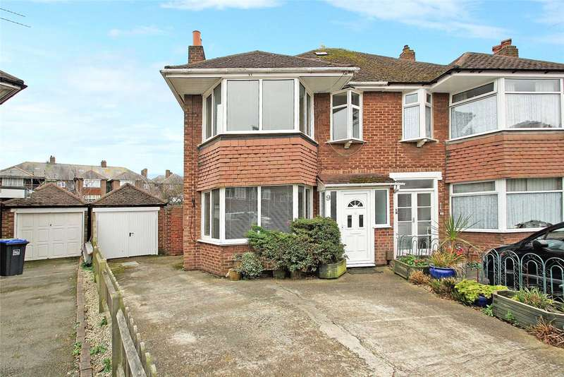 4 Bedrooms Semi Detached House for sale in Douglas Close, Worthing, West Sussex, BN11