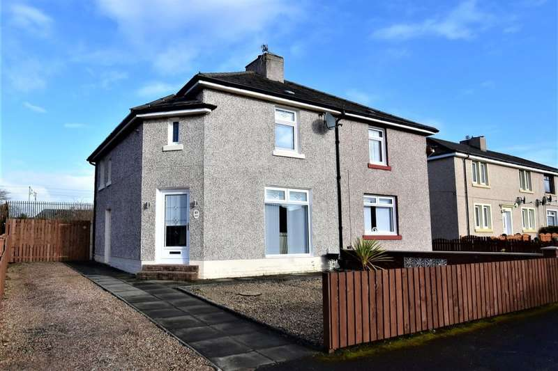 2 Bedrooms Semi Detached House for sale in Garfield Avenue, Bellshill, ML4