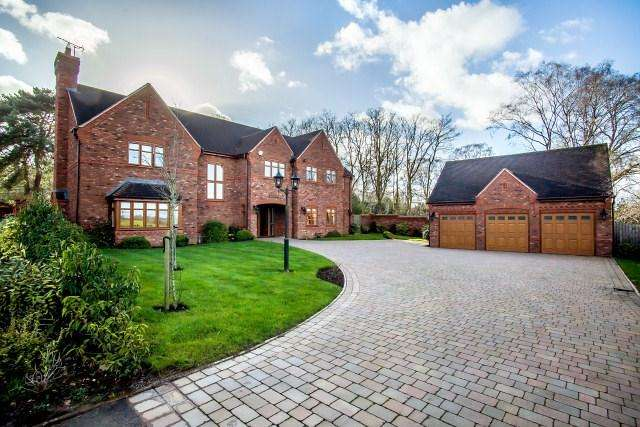5 Bedrooms Detached House for sale in Little Aston Park Road, Little Aston