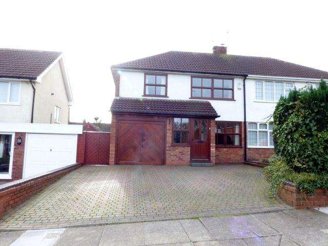 4 Bedrooms Semi Detached House for sale in Whitecrest, Great Barr