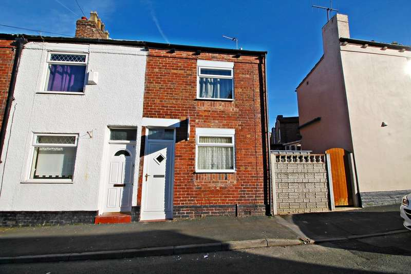 2 Bedrooms Terraced House for sale in Chaucer Street, Runcorn WA7