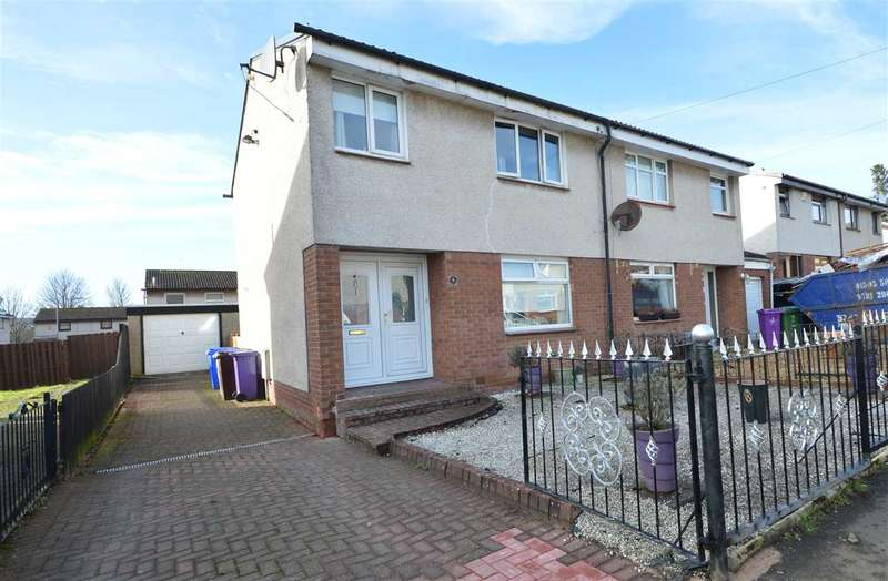 3 Bedrooms Semi Detached House for sale in Ardargie Drive, Glasgow
