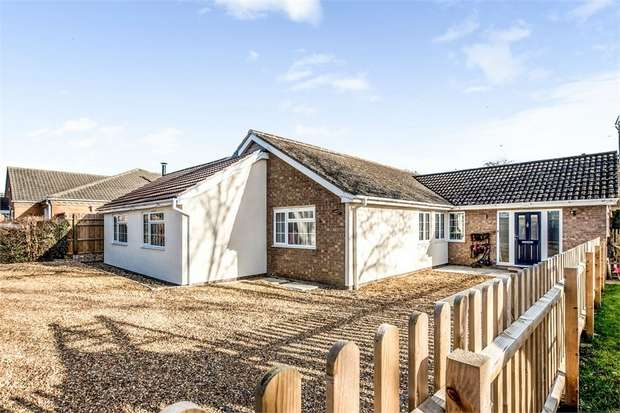 5 Bedrooms Detached Bungalow for sale in Marriotts Drove, Ramsey Mereside, Ramsey, Huntingdon, Cambridgeshire