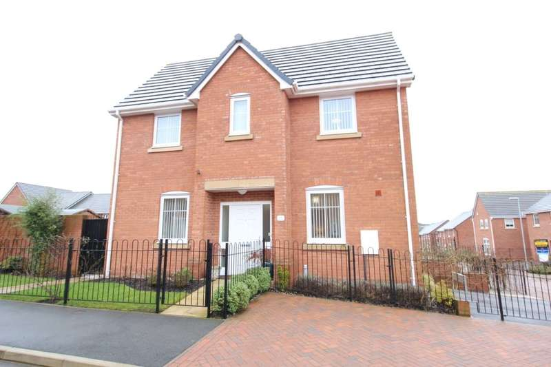 3 Bedrooms Detached House for sale in Sutton Avenue, Silverdale, Newcastle, ST5