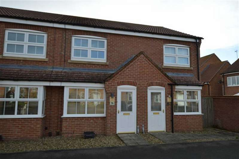 2 Bedrooms Terraced House for sale in Ashcourt Drive, HORNSEA, East Yorkshire