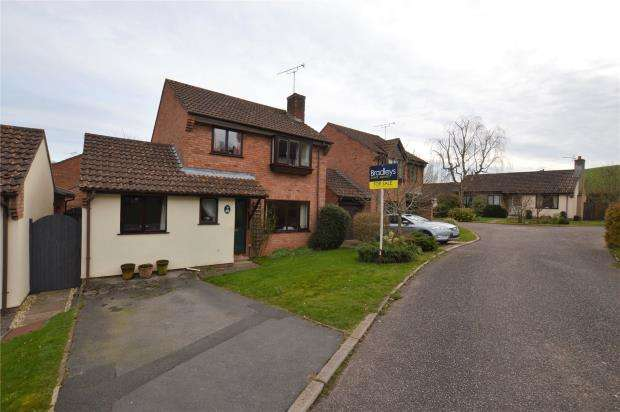 4 Bedrooms Detached House for sale in WesternLea, Crediton, Devon