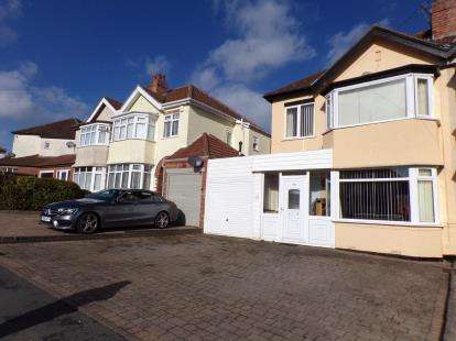 3 Bedrooms Semi Detached House for sale in Chestnut Road, Oldbury, Sandwell, West Midlands