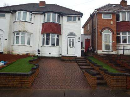 3 Bedrooms Semi Detached House for sale in Parkdale Road, Sheldon, Birmingham, West Midlands