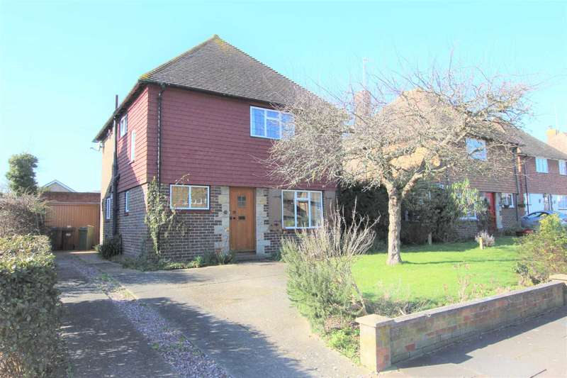 3 Bedrooms Detached House for sale in Willingdon Park Drive, Eastbourne, BN22 0BS