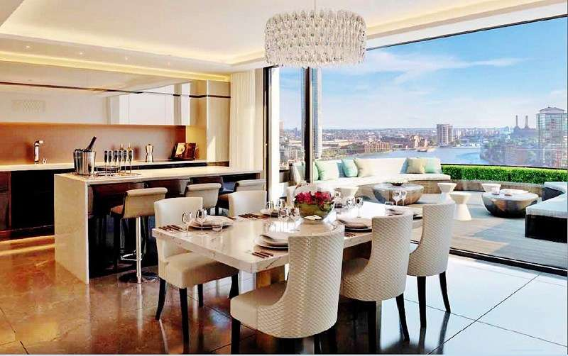 2 Bedrooms Property for sale in The Corniche 20 Albert Embankment South Bank