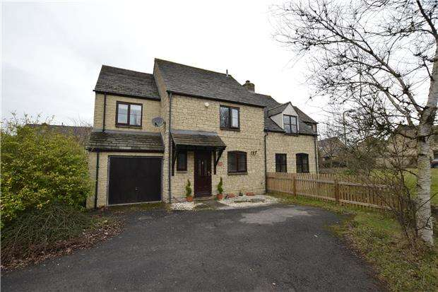 4 Bedrooms Semi Detached House for sale in Cotswold Meadow, WITNEY, Oxfordshire, OX28 5FB