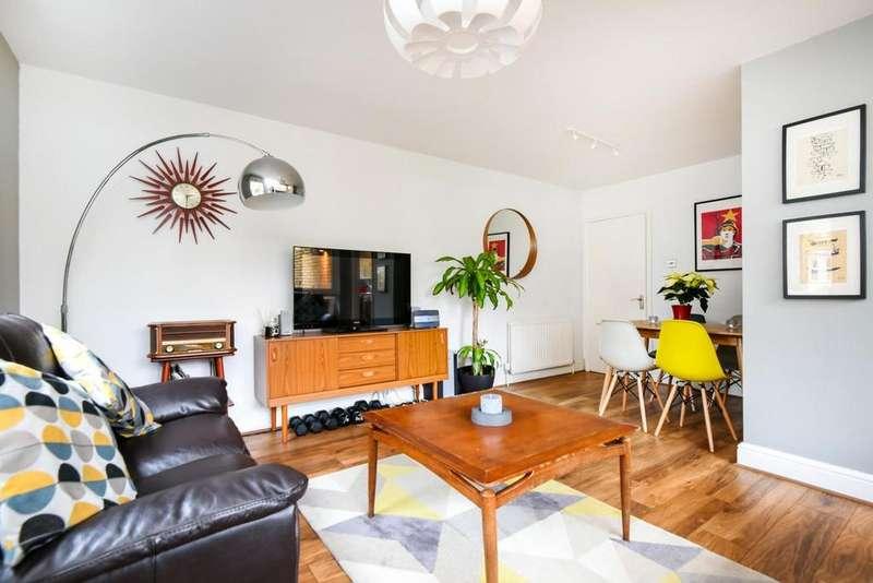 2 Bedrooms Flat for sale in Geoffrey Road, Brockley