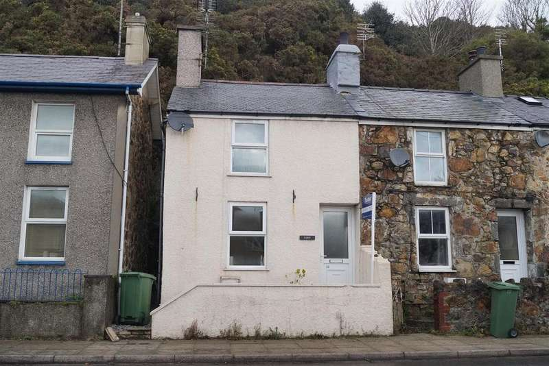 2 Bedrooms End Of Terrace House for sale in Abererch Road, Pwllheli