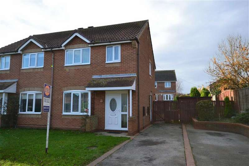 3 Bedrooms Semi Detached House for sale in The Birches, Hornsea, East Yorkshire