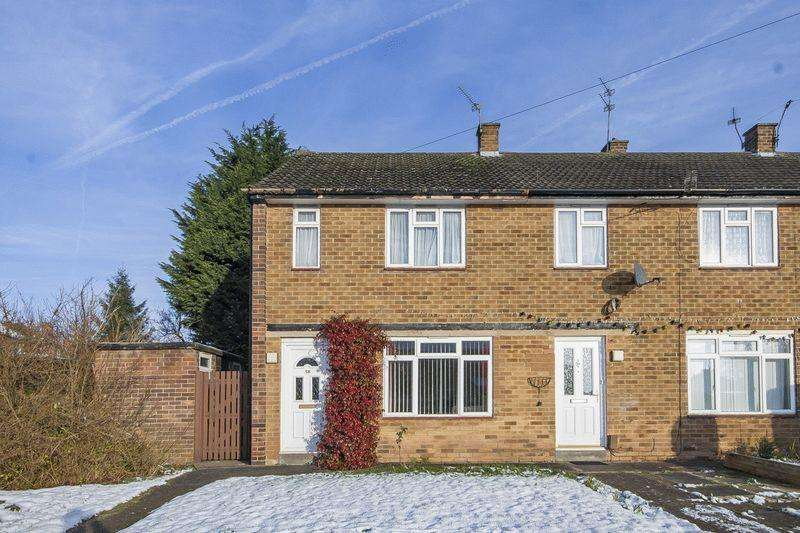 2 Bedrooms End Of Terrace House for sale in BONSALL AVENUE, LITTLEOVER