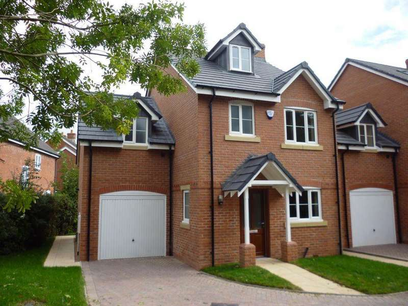 4 Bedrooms Detached House for rent in Audlem Road, Nantwich