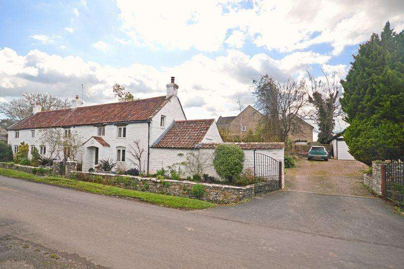 4 Bedrooms Detached House for sale in Stone Allerton, Nr Wedmore Somerset