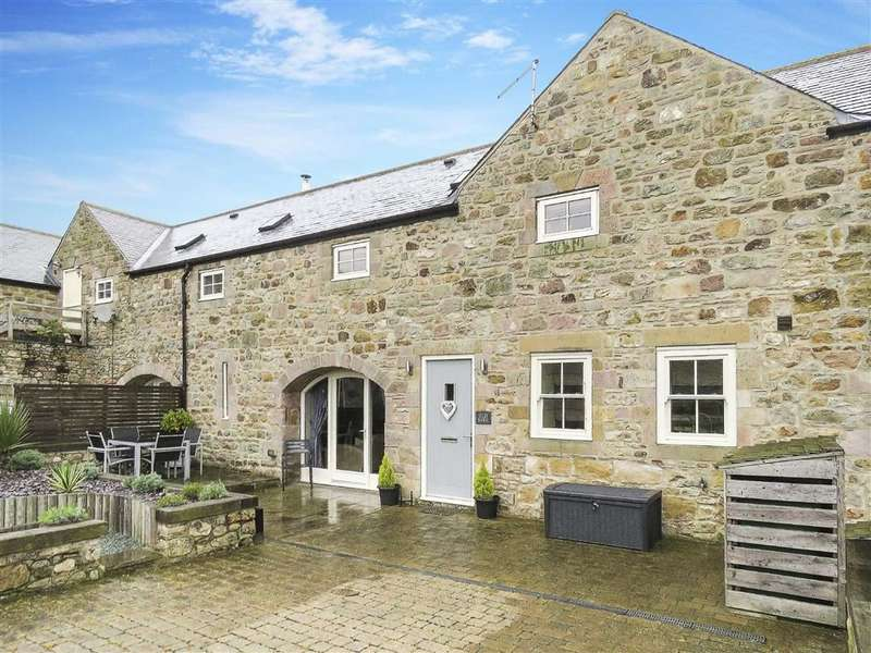 3 Bedrooms Barn Conversion Character Property for sale in Wandylaw, Chathill, Northumberland