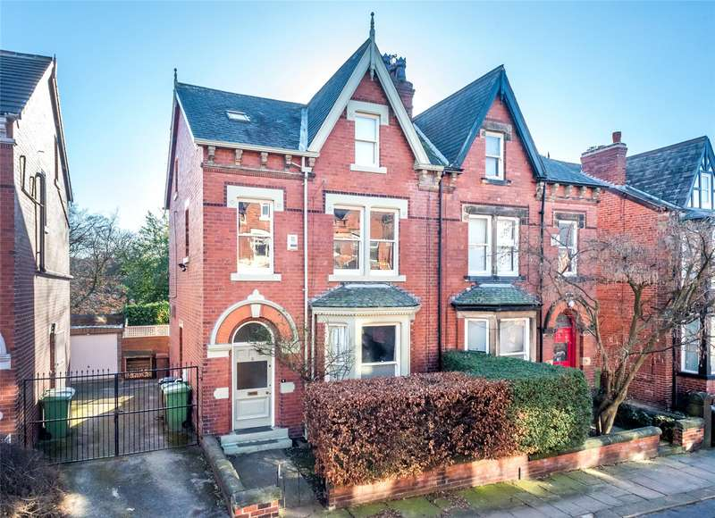 4 Bedrooms Semi Detached House for sale in Roundhay Mount, Leeds, West Yorkshire, LS8