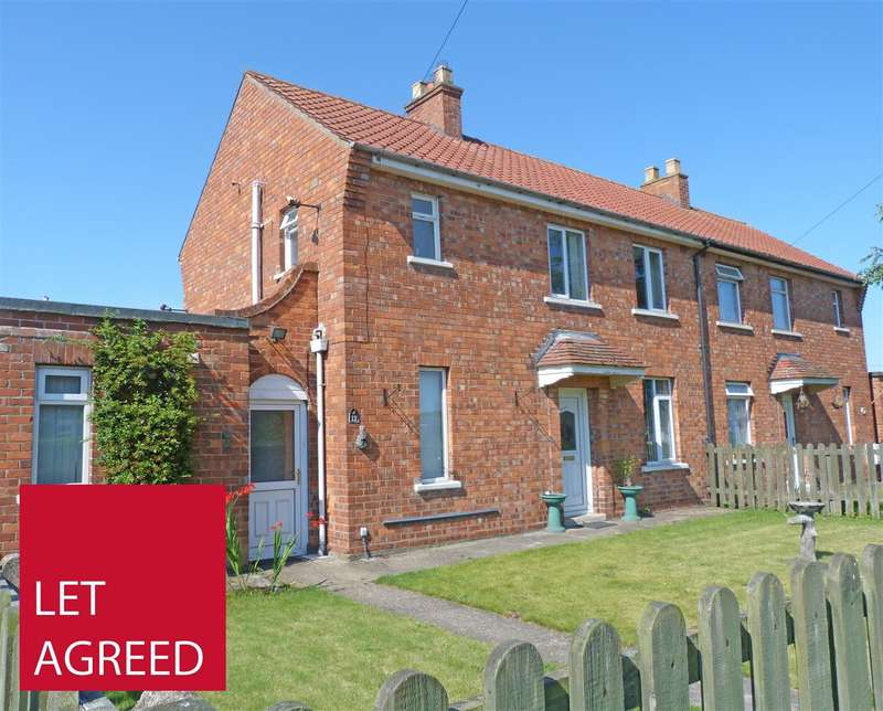 3 Bedrooms Semi Detached House for rent in Princess Road, Market Weighton