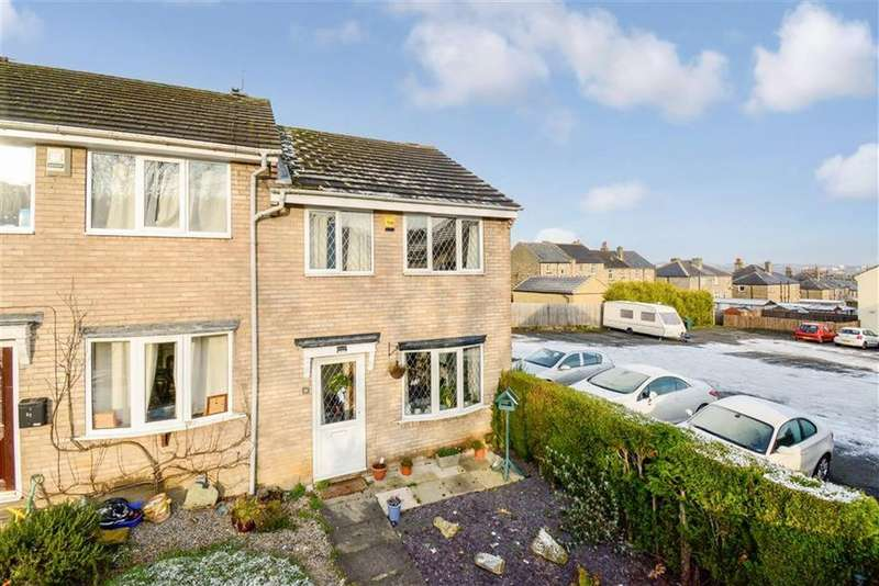 3 Bedrooms End Of Terrace House for sale in Howden Close, Cowlersley, Huddersfield, HD4
