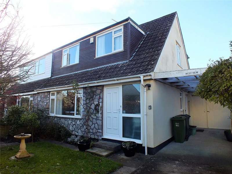 3 Bedrooms Semi Detached House for sale in Quab Lane, Wedmore, Somerset, BS28