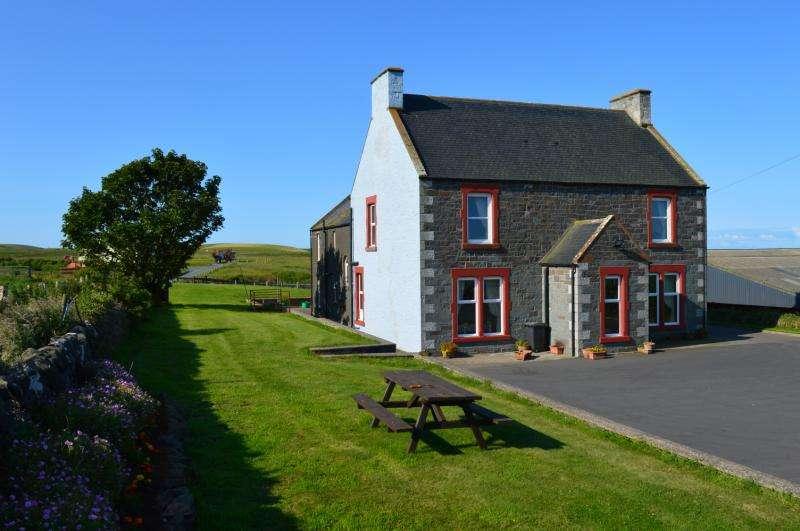7 Bedrooms Detached House for sale in Barnhills Farmhouse, Kirkcolm, Stranraer, DG9
