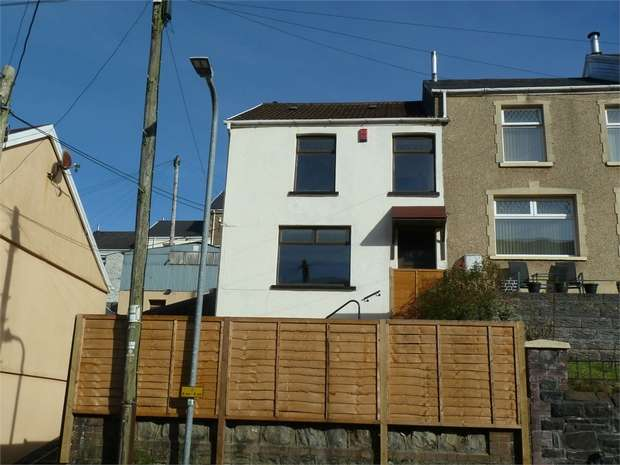 3 Bedrooms End Of Terrace House for sale in Jersey Road, Blaengwynfi, Port Talbot, West Glamorgan