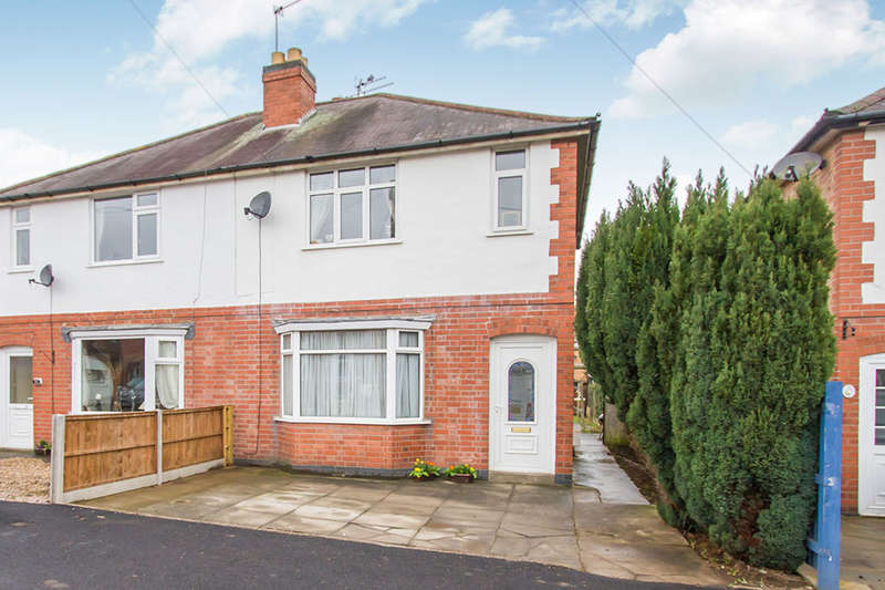 2 Bedrooms Semi Detached House for sale in East Avenue, Whetstone, Leicester, LE8