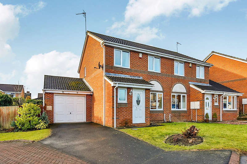 3 Bedrooms Semi Detached House for sale in Daleside, Sacriston, Durham, DH7