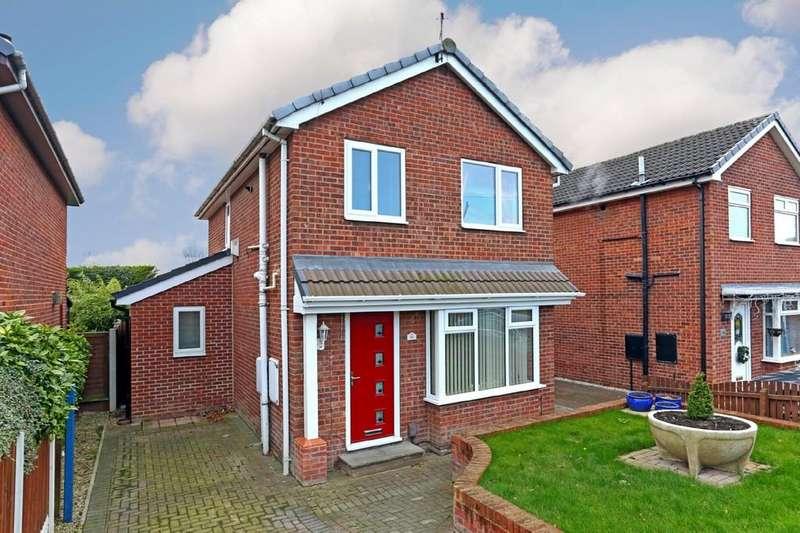 4 Bedrooms Detached House for sale in Blackthorn Way, Silcoates Park