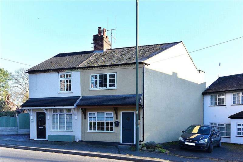 2 Bedrooms Semi Detached House for sale in Habberley Road, Bewdley, DY12