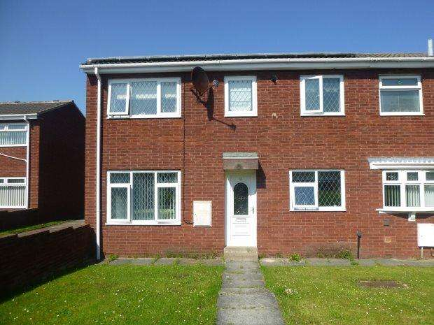 3 Bedrooms Semi Detached House for sale in LOWLAND CLOSE, HALLFARM, SUNDERLAND SOUTH