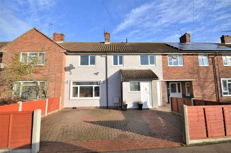 4 Bedrooms Terraced House for sale in Walnut Tree Way, Shrub End, CO2 9BT