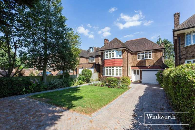 5 Bedrooms Detached House for sale in Woodside Avenue, Woodside Park, London, N12