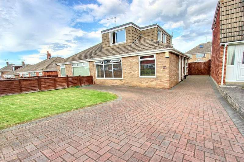 3 Bedrooms Semi Detached Bungalow for sale in Durham Road, Eston