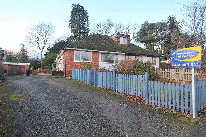 3 Bedrooms Semi Detached Bungalow for sale in Trefynant Park, Acrefair