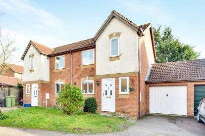3 Bedrooms Semi Detached House for sale in Moeran Close, Brownswood, Milton Keynes, Bucks