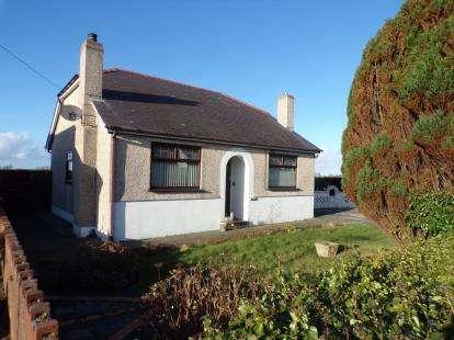 2 Bedrooms Bungalow for sale in Cae Garw Road, Rhosbodrual, Caernarfon, Gwynedd, LL55