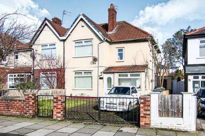 3 Bedrooms Semi Detached House for sale in Orrell Road, Bootle, Liverpool, Merseyside, L20