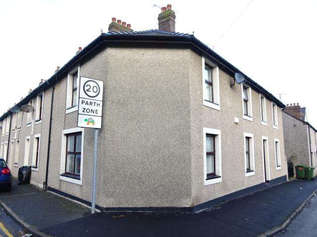 3 Bedrooms End Of Terrace House for sale in AMBROSE STREET, BANGOR LL57